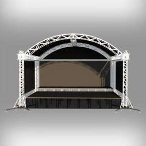 Сцена с арочной крышей в аренду