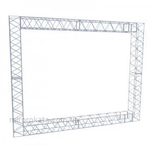 Баннерная конструкция 3х2,4 м.