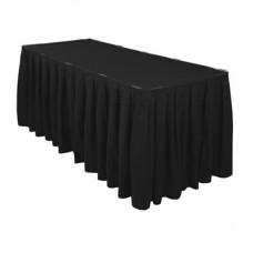 Юбка на стол, чёрная