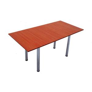 Прокат прямоугольного стола на хром ножках