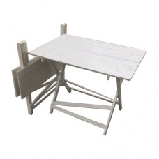 Стол белый №1