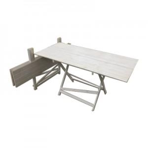 Прокат складного белого стола