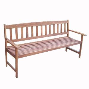 Скамейка деревянная (коричневая)