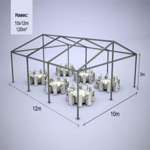 Аренда модульного шатра